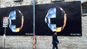 Campaña de exterior de Daft Punk en Nueva York