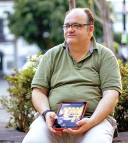 Gustavo Entrala en CDMX junio 2016