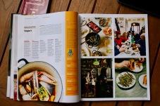 La revista de Arbnb dedica espacios amplios a las costumbres gastronómicas de los destimnos elegidos