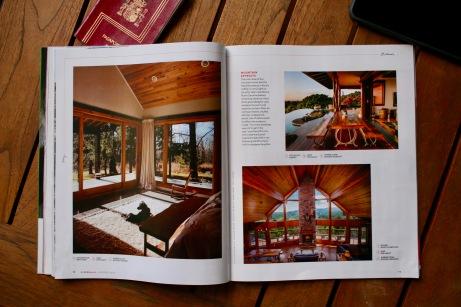 En la revista de Arbnb se incluyen reportajes espectaculares sobre los alojamientos Plus